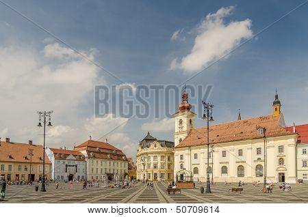 Sibiu-Hauptplatz