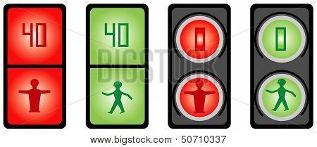 Foot Traffic Light