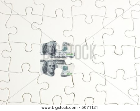 Puzzle Hole Money