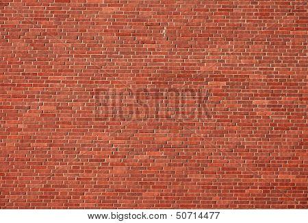 Nice red brick wall