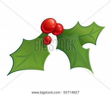 Cartoon Mistletoe Shinny Decorative Ornament