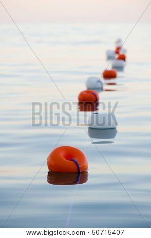 Buoys Floating