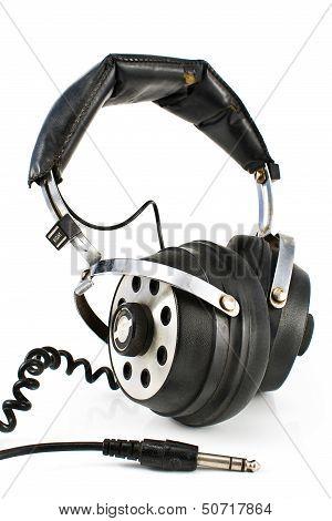 Pair Of Old Sound Headphones