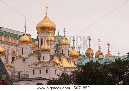 Cathedral Of The Annunciation Of Moscow Kremlin
