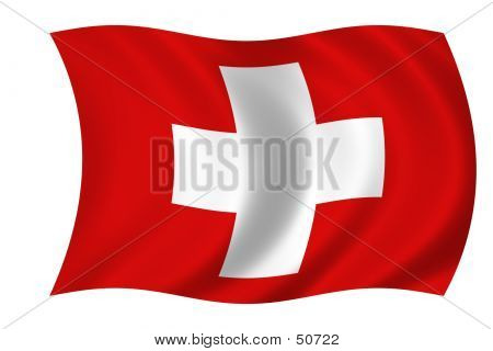 Flag Of Suisse poster
