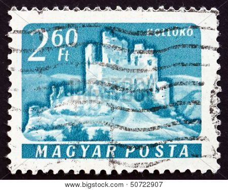 Postage Stamp Hungary 1961 Castle Of Holloko