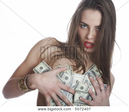 The Girl And The Money