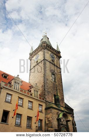Prague,Townhall In Old Town