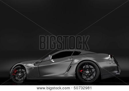 Powerful Sporty Car