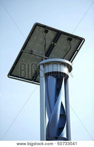 Wind And Solar Generator