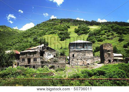 Georgian village
