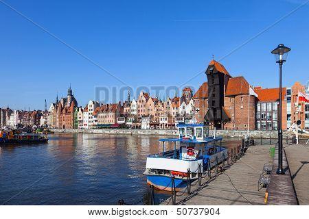 Marina In Gdansk