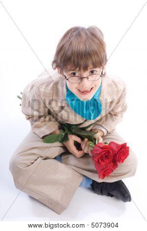 The Boy With Roses