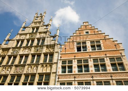Medieval Houses, Ghent, Belgium