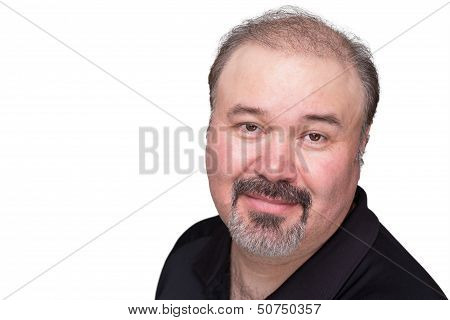 Middle Age Goatee Man
