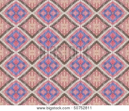 Real Fabric Abstract Pattern