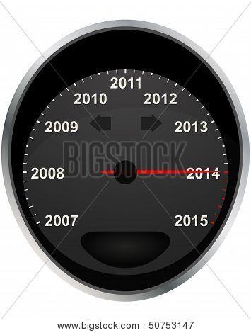 2014 Odometer Calendar