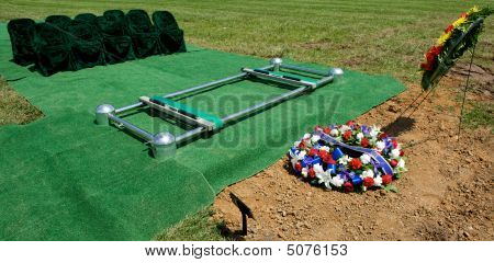 Gravesite At Arlington National Cemetery