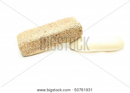 Different Means Of Hygiene - Pumice, And Soap