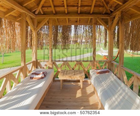 Relaxation Hut In Resort