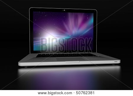 Laptop Front 3D