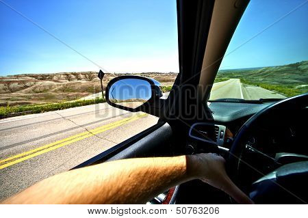 Driving Thru Summer