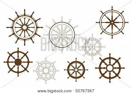Steering wheels set