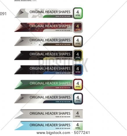 Original Header Shapes