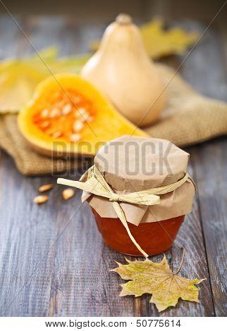 Small Pumpkins And Pumpking Jam