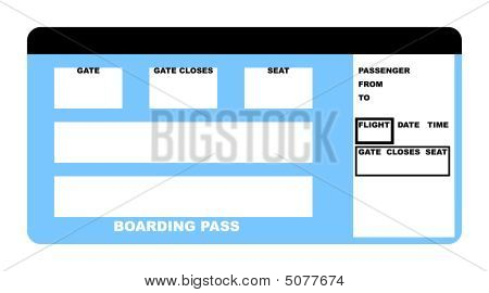Airline Ticket Voucher Template Pictures to Pin – Airline Ticket Template Free