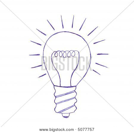 Light Bulb Sketch
