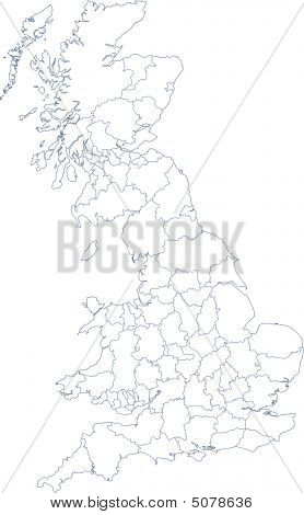 Uk Map Counties