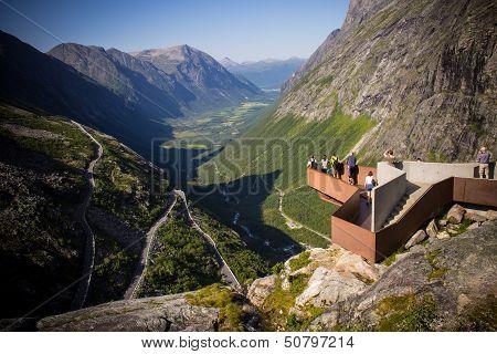 Viewing Platform in Trollstigen