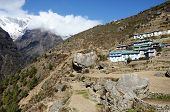 stock photo of sherpa  - Namche Bazar  - JPG