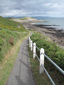 Fenced Coastal Footpath