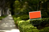 stock photo of board-walk  - Beverly Hills California Political Yard Sign - JPG