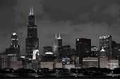 stock photo of willy  - Chicago Architecture  - JPG