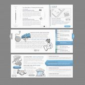 picture of field mouse  - Web site design menu navigation elements with icons set - JPG