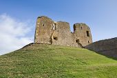 picture of bailey  - considered one of the finest examples of a motte and bailey castle in scotland - JPG