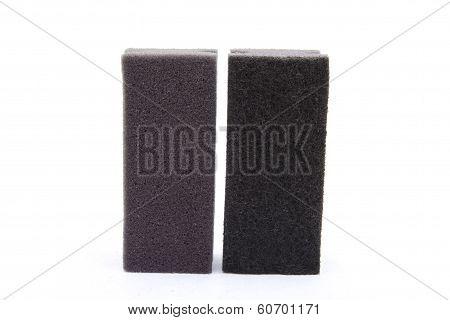 Black pot sponge