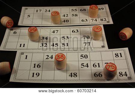 Lotto. Tabletop & gamble.