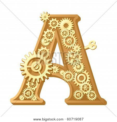 Mechanical alphabet