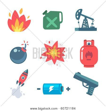 explosive icons