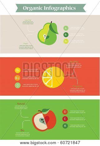 Health food infographic