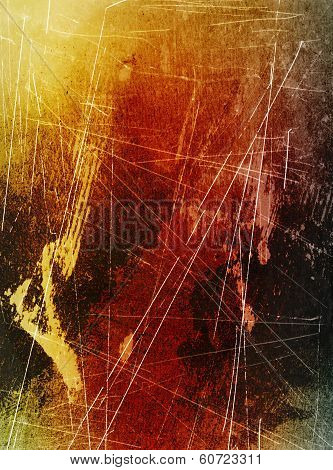 Scratched Surface Background