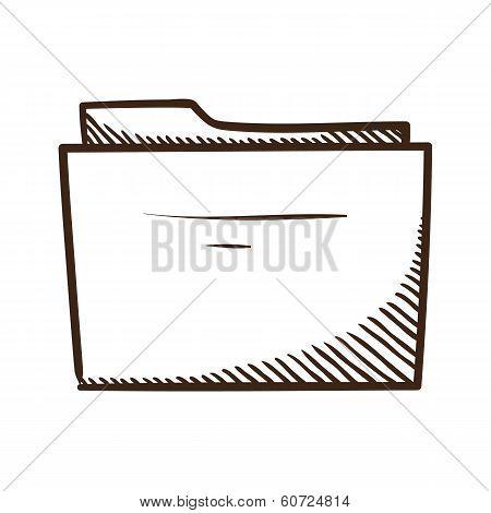 Folder symbol.