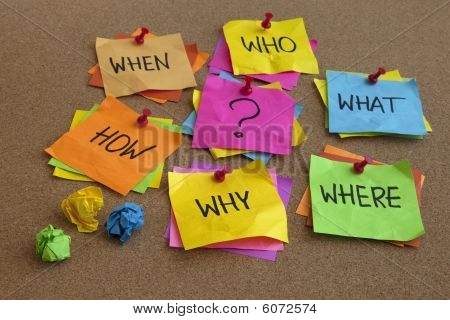 Unanswered Questions - Brainstorming Concept