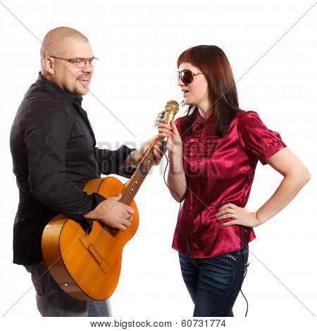 Couple Singing