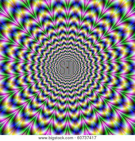 Crinkle Cut Psychedelic Pulse Alternative Color
