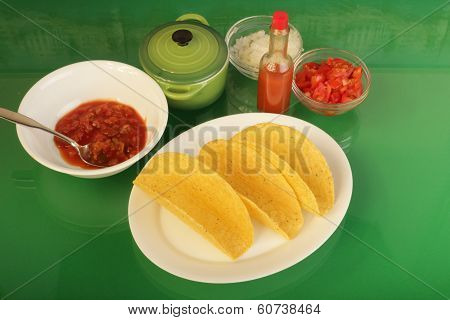Crispy Taco Ingredients